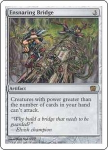 Magic the Gathering Eighth Edition Single Card Rare #300 Ensnaring Bridge