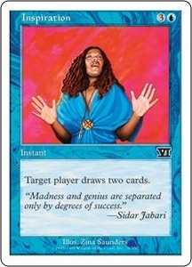 Magic the Gathering Starter 2000 Single Card Common Inspiration
