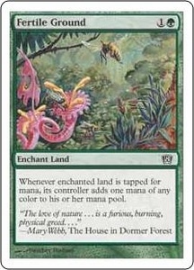 Magic the Gathering Eighth Edition Single Card Common #248 Fertile Ground