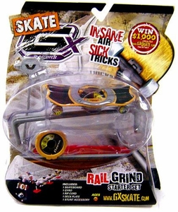GX Racers Skate SK8 Rail Grind Stunt Starter Set with Eleven Deck Plate [Arrowhead Board] BLOWOUT SALE!