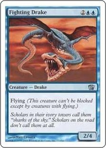 Magic the Gathering Eighth Edition Single Card Uncommon #77 Fighting Drake