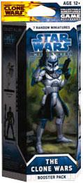 Star Wars CMG Miniatures Game Clone Wars Booster Pack