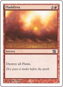 Magic the Gathering Eighth Edition Single Card Uncommon #186 Flashfires