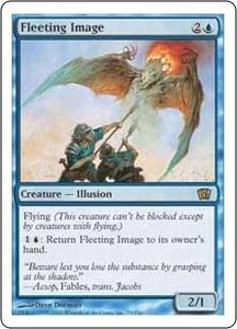 Magic the Gathering Eighth Edition Single Card Rare #79 Fleeting Image