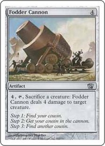 Magic the Gathering Eighth Edition Single Card Uncommon #302 Fodder Cannon