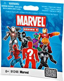 Marvel Mega Bloks Series 1 Minifigure Mystery Pack [1 RANDOM Mini Figure]