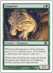 Magic the Gathering Eighth Edition Single Card Rare #250 Fungusaur