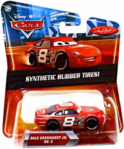 Disney / Pixar CARS Movie Exclusive 1:55 Die Cast Car with Synthetic Rubber Tires Dale Earnhardt Jr.