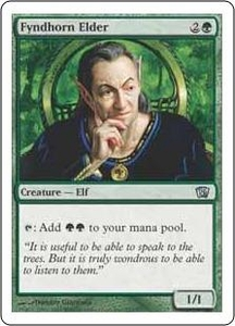 Magic the Gathering Eighth Edition Single Card Uncommon #251 Fyndhorn Elder