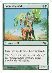 Magic the Gathering Eighth Edition Single Card Rare #252 Gaea's Herald