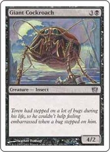 Magic the Gathering Eighth Edition Single Card Common #135 Giant Cockroach