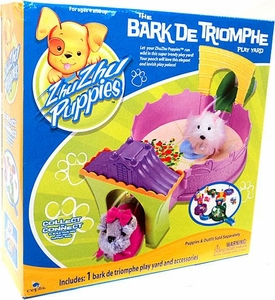 Zhu Zhu Puppies Playset The Bark De Triomphe Play Yard [Puppies Not Included!]