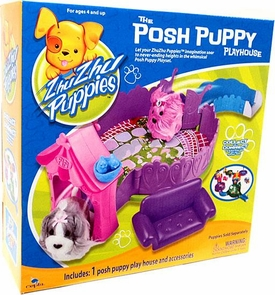 Zhu Zhu Puppies Playset Posh Puppy Playhouse [Puppies Not Included!]