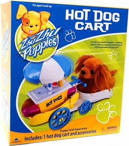 Zhu Zhu Puppies Playset Hot Dog Cart [Puppies Not Included!]