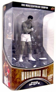 Upper Deck Pro Shots Series 1 Action Figure Muhammad Ali [1965 World Heavyweight Champion] (Black & White Version)
