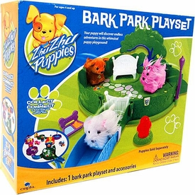 Zhu Zhu Puppies Playset Bark Park [Puppies Not Included!]