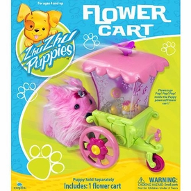 Zhu Zhu Puppies Playset Flower Cart [Puppies Not Included!]