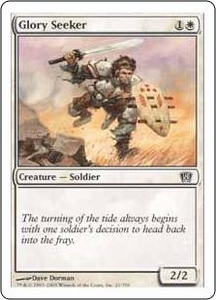 Magic the Gathering Eighth Edition Single Card Common #21 Glory Seeker