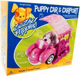 Zhu Zhu Puppies Playset Puppy Car & Carport [Puppies Not Included!]
