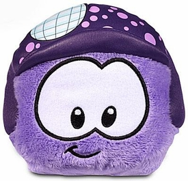 Disney Club Penguin 4 Inch Series 11 Plush Puffle Purple with Disco Ball Hat [Includes Coin with Code!] Hot!