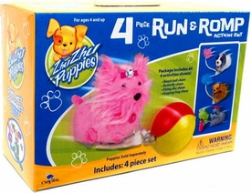 Zhu Zhu Puppies 4 Piece Run & Romp Action Set [Puppies Not Included!]