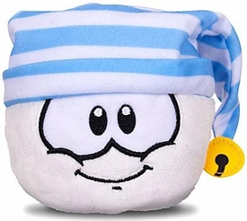 Disney Club Penguin 4 Inch Series 11 Plush Puffle White with Striped Hat [Includes Coin with Code!]