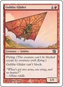 Magic the Gathering Eighth Edition Single Card Uncommon #189 Goblin Glider
