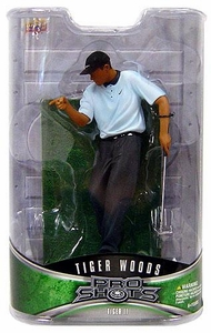 Upper Deck Pro Shots Series 1 Action Figure Tiger Woods #2 [Pointing at Cup 2000 PGA Championship Win]