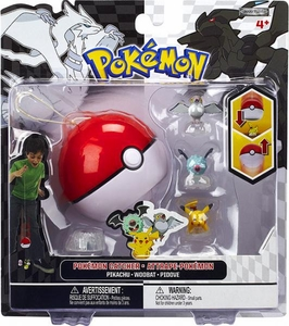 Pokemon Black & White Series 3 Catcher 3-Pack Pikachu, Woobat & Pidove