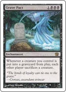 Magic the Gathering Eighth Edition Single Card Rare #137 Grave Pact