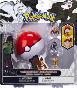 Pokemon Black & White Series 3 Catcher 3-Pack Zoroark, Darmanitan & Scraggy