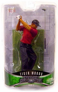 Upper Deck Pro Shots Series 2 Action Figure Tiger Woods #3 [Ripping a Driver]