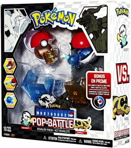 Pokemon Black & White Series 1 Pop n Battle Rivalry 2-Pack Oshawott vs. Sandile