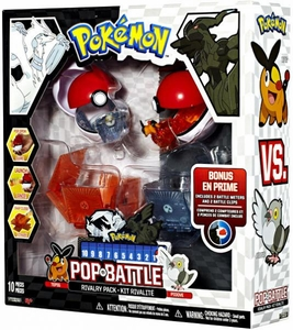 Pokemon Black & White Series 1 Pop n Battle Rivalry 2-Pack Tepig vs. Pidove