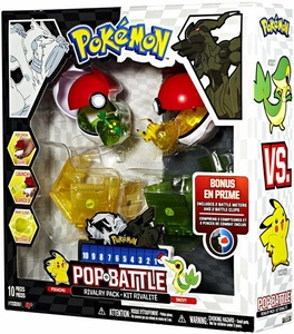 Pokemon Black & White Series 1 Pop n Battle Rivalry 2-Pack Pikachu vs. Snivy