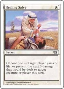 Magic the Gathering Eighth Edition Single Card Common #22 Healing Salve