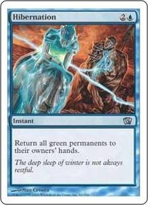 Magic the Gathering Eighth Edition Single Card Uncommon #82 Hibernation