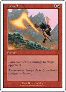Magic the Gathering Starter 2000 Single Card Common Lava Axe