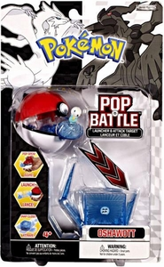 Pokemon Black & White Series 1 Pop n Battle Launcher & Attack Target Oshawott