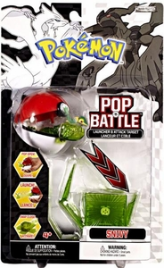 Pokemon Black & White Series 1 Pop n Battle Launcher & Attack Target Snivy