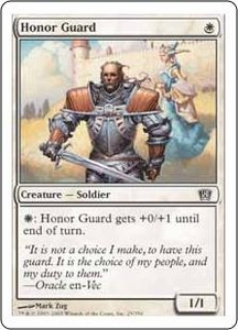 Magic the Gathering Eighth Edition Single Card Common #25 Honor Guard
