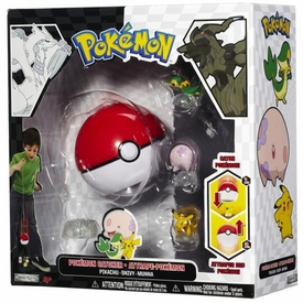Pokemon Black & White Series 1 Catcher 3-Pack Pikachu, Snivy & Munna