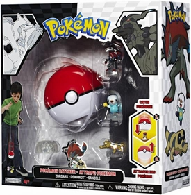 Pokemon Black & White Series 1 Catcher 3-Pack Zoroark, Oshawott & Sandile