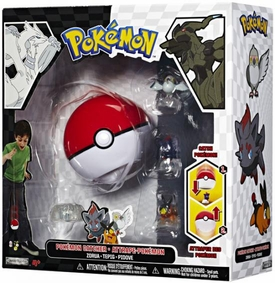 Pokemon Black & White Series 1 Catcher 3-Pack Zorua, Tepig & Pidove