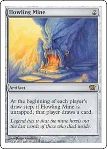 Magic the Gathering Eighth Edition Single Card Rare #303 Howling Mine