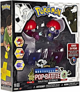 Pokemon Black & White Series 2 Pop n Battle Rivalry 2-Pack Axew vs. Woobat