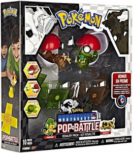 Pokemon Black & White Series 2 Pop n Battle Rivalry 2-Pack Pansage vs. Sandile