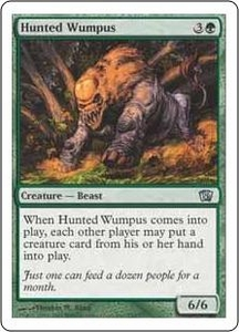 Magic the Gathering Eighth Edition Single Card Uncommon #258 Hunted Wumpus
