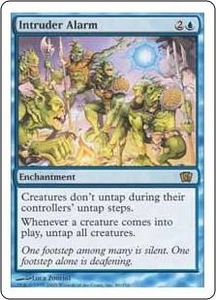 Magic the Gathering Eighth Edition Single Card Rare #86 Intruder Alarm