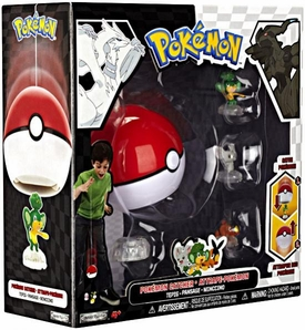 Pokemon Black & White Series 2 Catcher 3-Pack Pansage, Minccino & Tepig